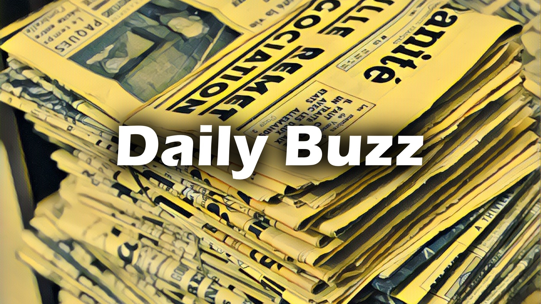 DailyBuzz Friday 9 November 2018