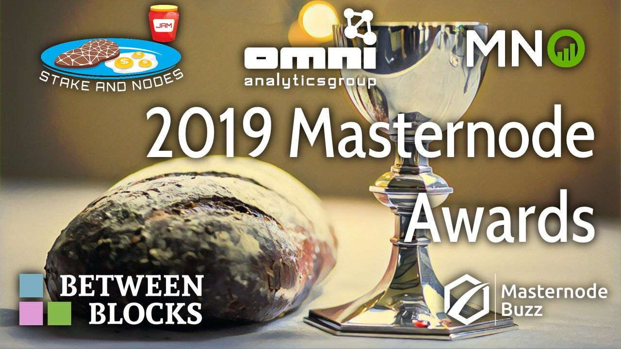2019 Masternode Awards Voting Ends In 36 Hours
