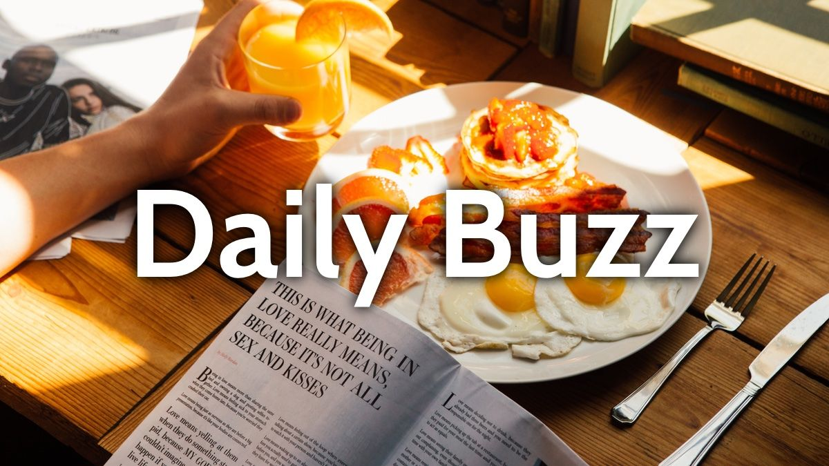 DailyBuzz Sunday 4 August 2019